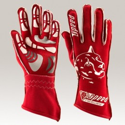 GUANTES SPEED MELBOURNE ROJO